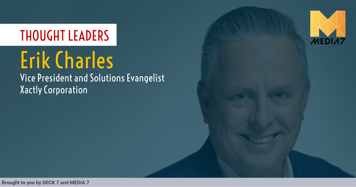 Q&A with Erik Charles, Vice President and Solutions Evangelist at Xactly Corporation