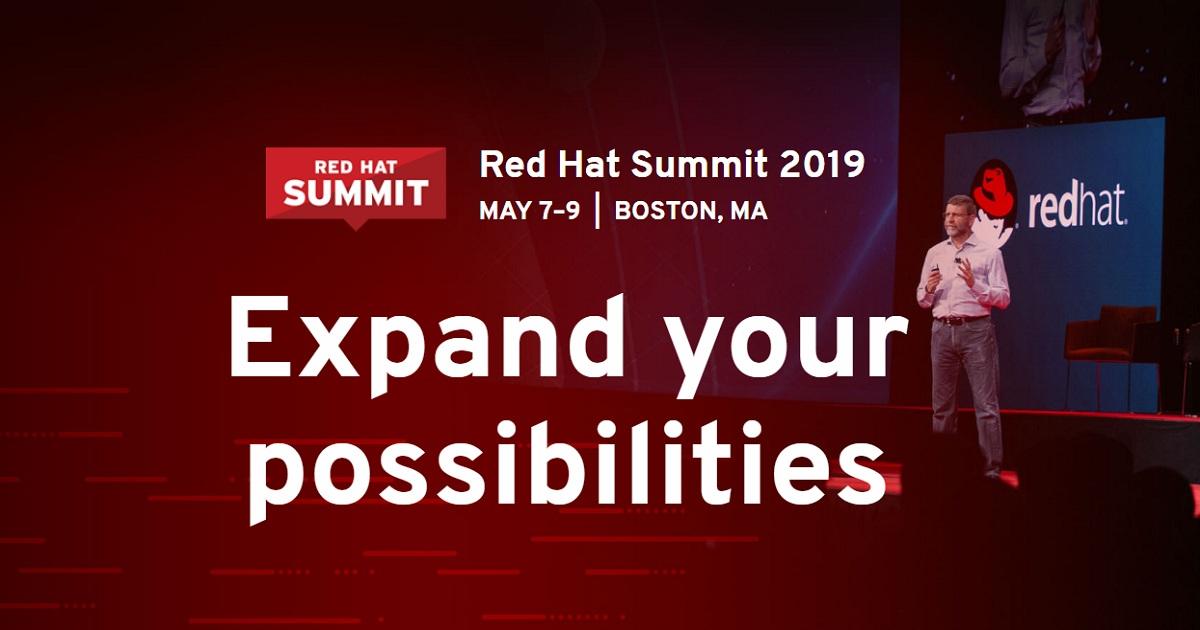 Red Hat Summit 2019