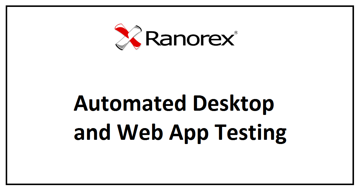Automated Desktop and Web App Testing