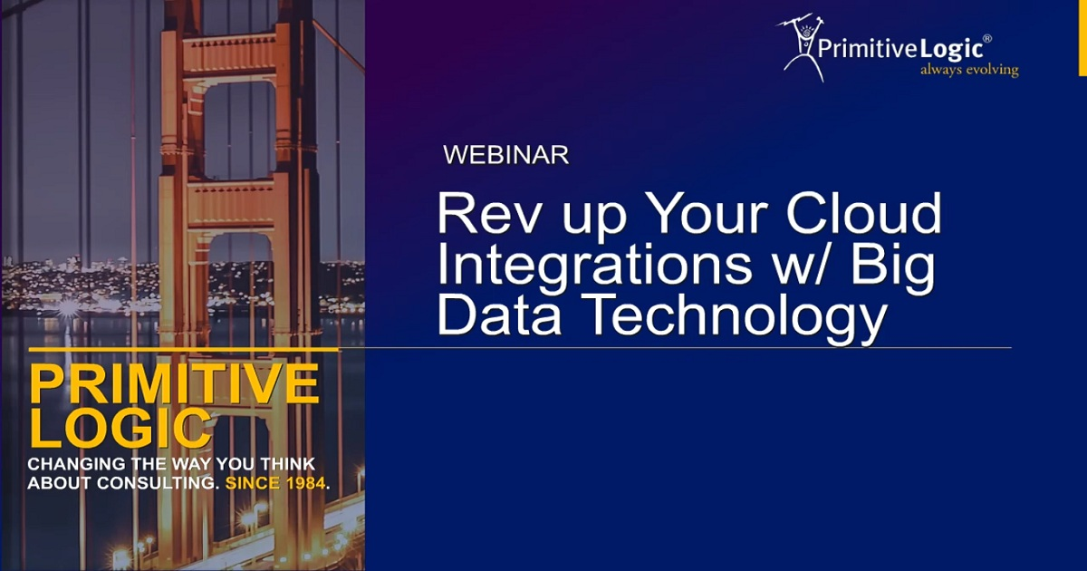 Rev Up Your Cloud Integrations with Big Data Technology