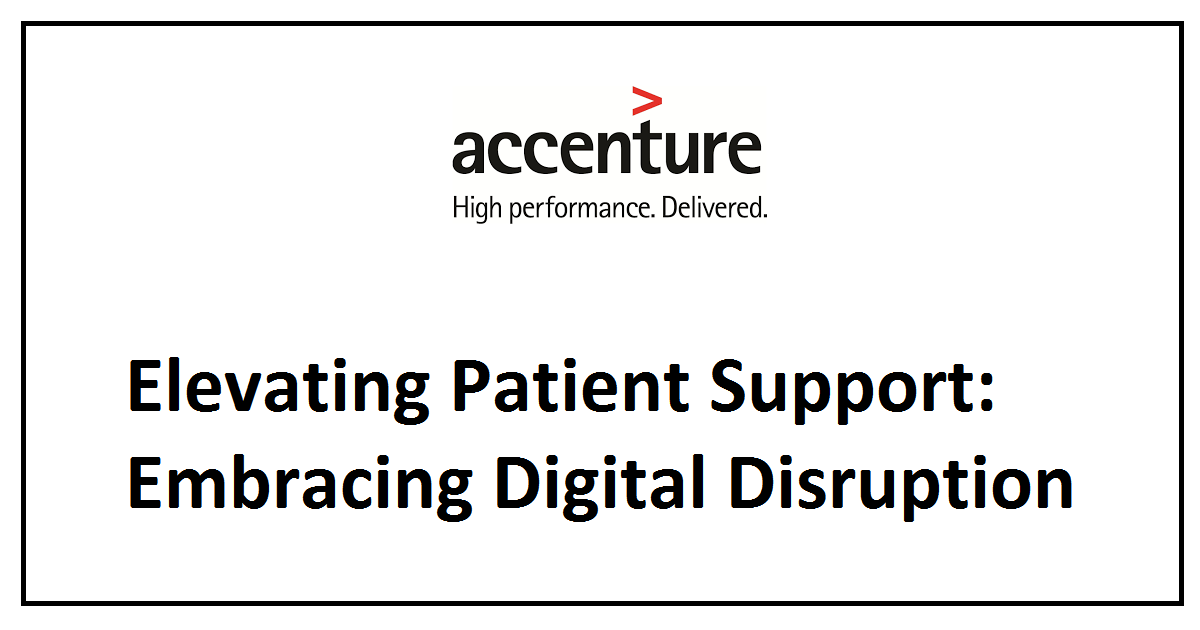 Elevating Patient Support: Embracing Digital Disruption