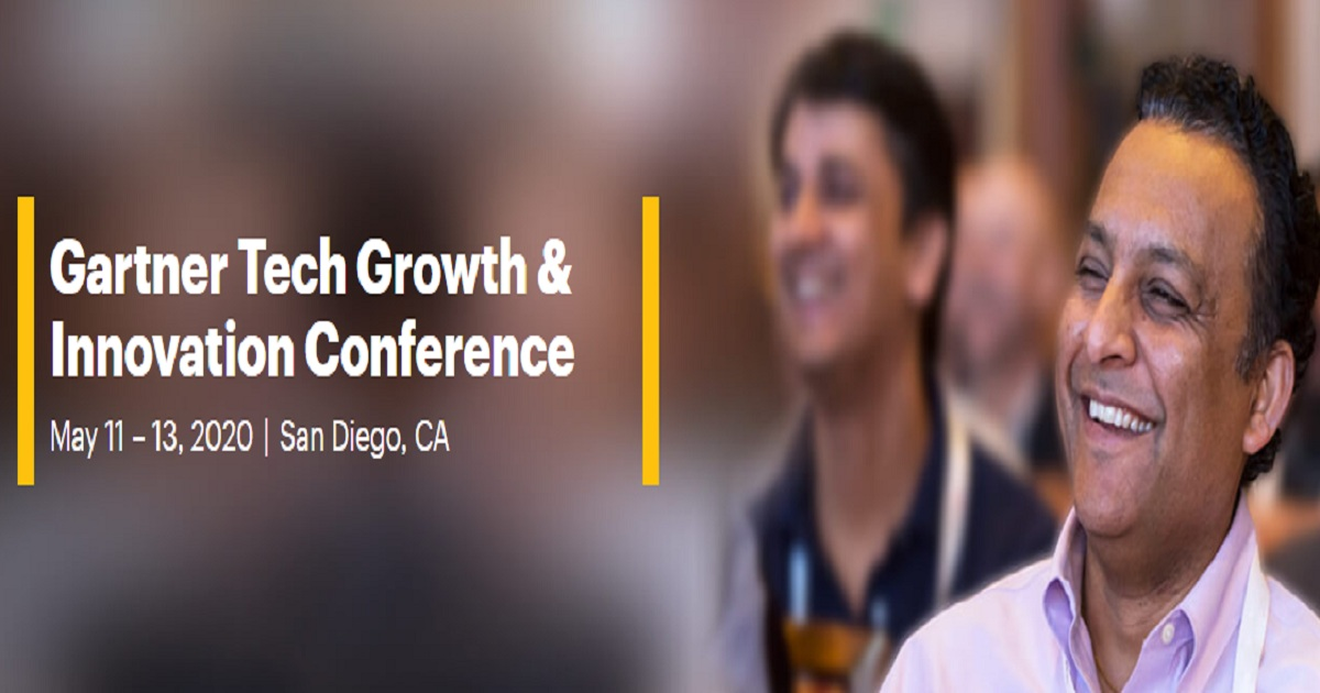Gartner Tech Growth & Innovation Conference 2020