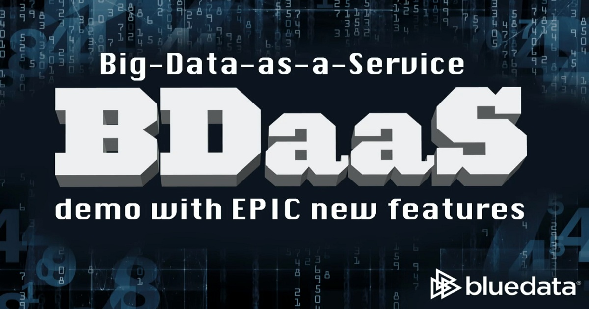 Big-Data-as-a-Service for Hybrid and Multi-Cloud Deployments