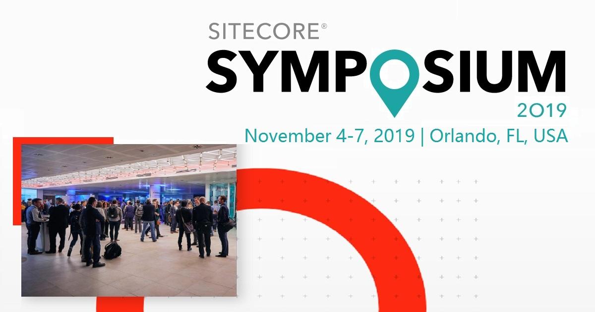 Sitecore Symposium 2019