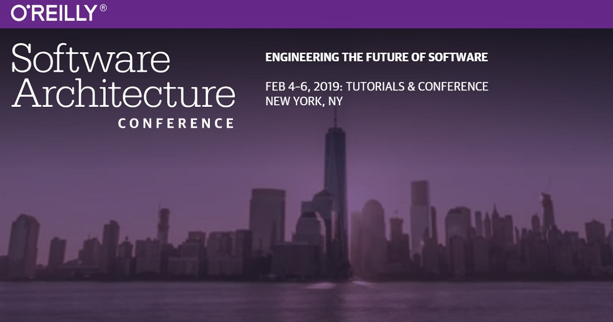 The O'Reilly Software Architecture Conference