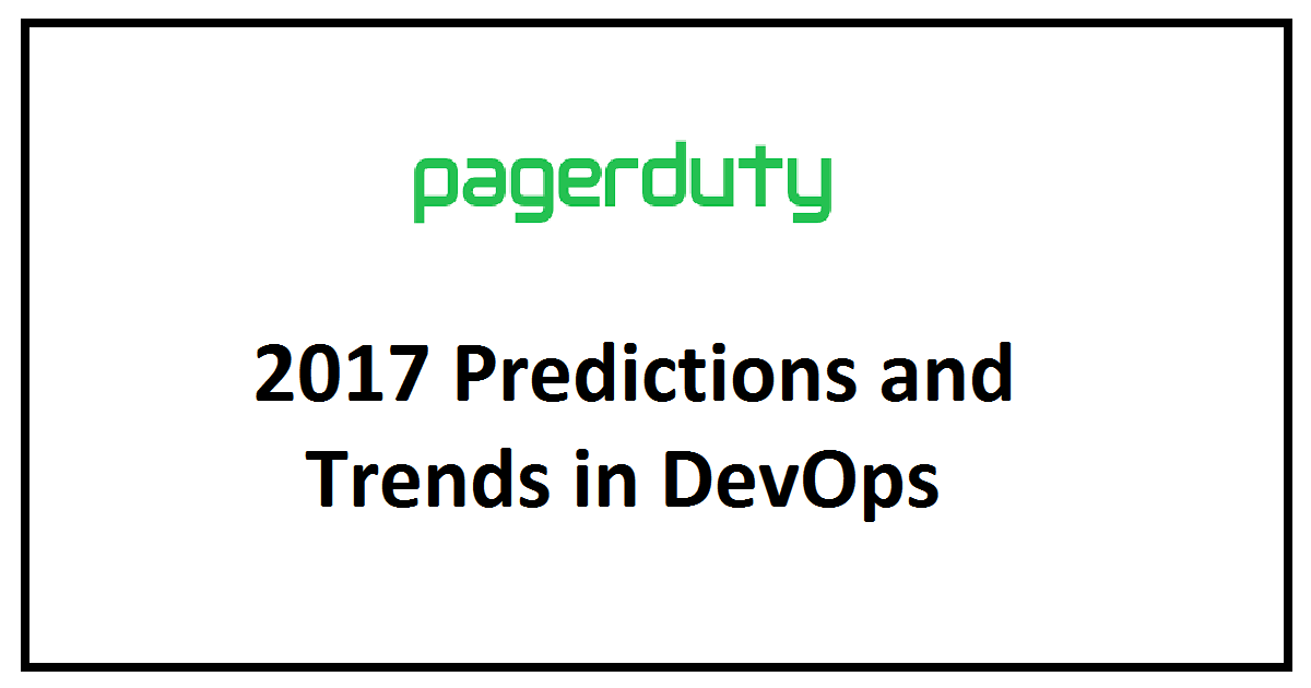 2017 Predictions and Trends in DevOps