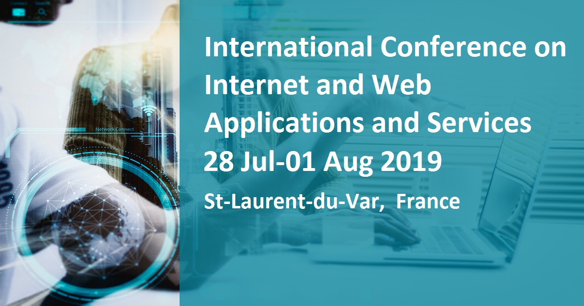 International Conference on Internet and Web Applications and Services