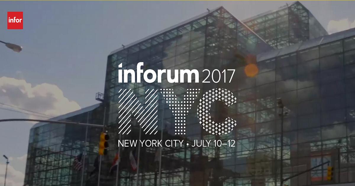 Inforum 2017 | July 10-12, 2017 | NEW YORK CITY , USA ...