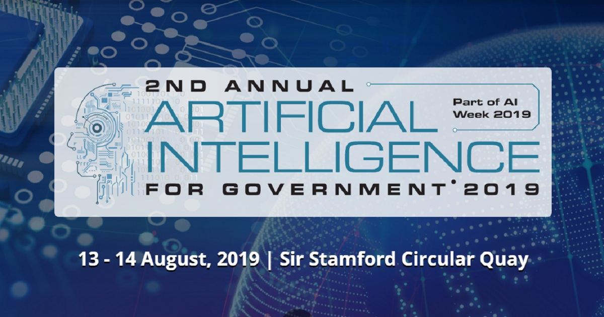 2nd Annual AI for Government Summit 2019