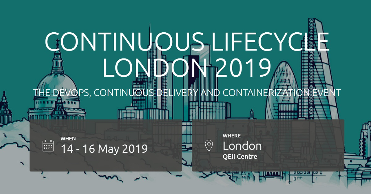 Continuous Lifecycle London 2019