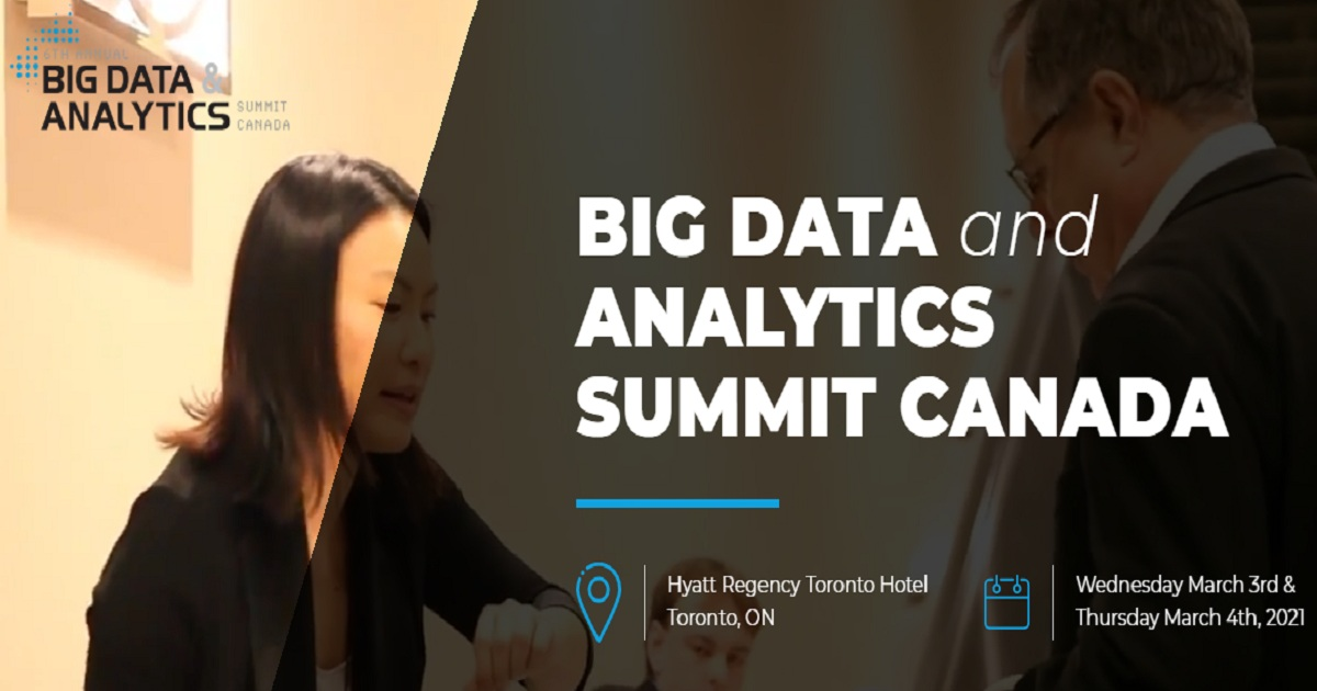 BIG DATA and ANALYTICS SUMMIT CANADA 2021