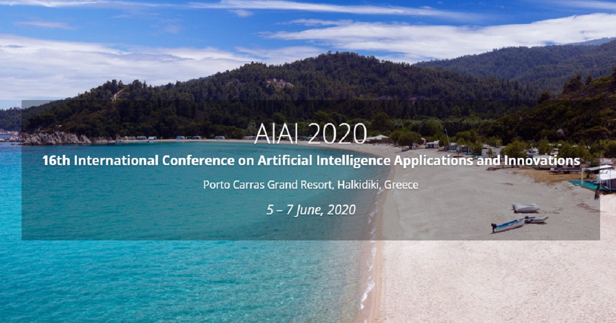16th International Conference on Artificial Intelligence Applications and Innovations