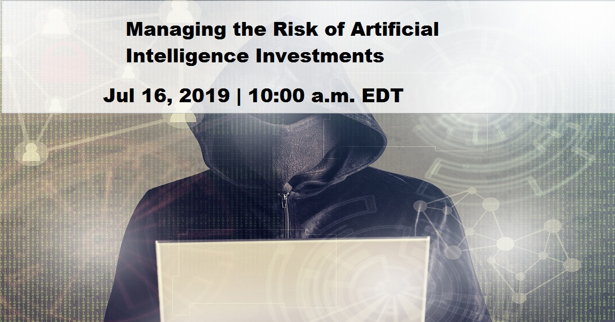 Managing the Risk of Artificial Intelligence Investments