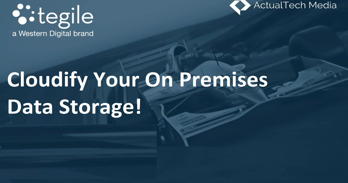 Cloudify Your On Premises Data Storage!