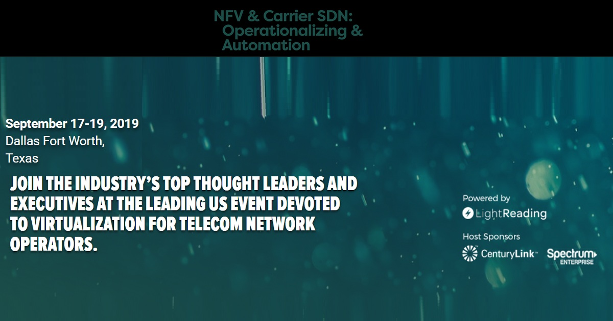 NFV & Carrier SDN: Operationalizing & Automation