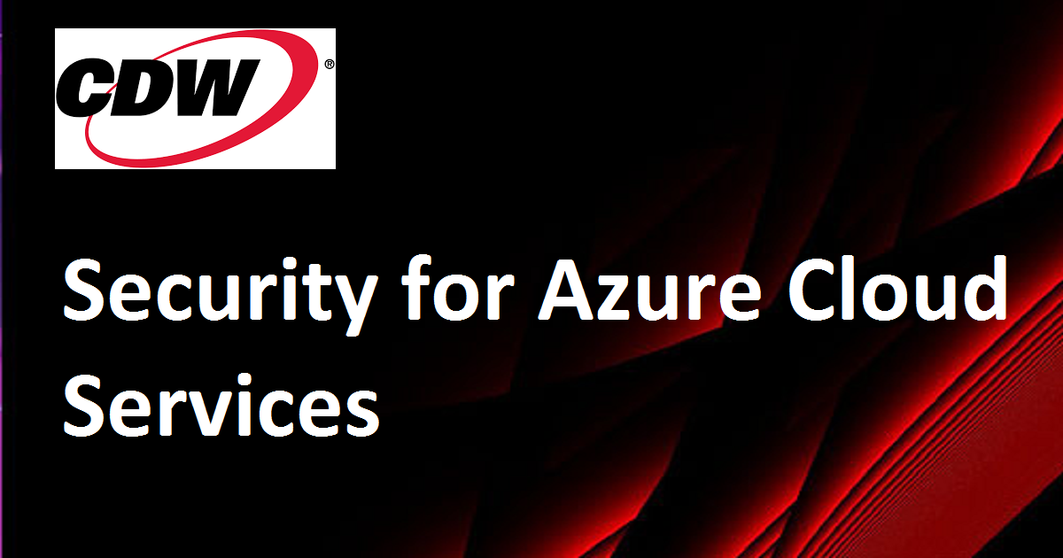 Security for Azure Cloud Services