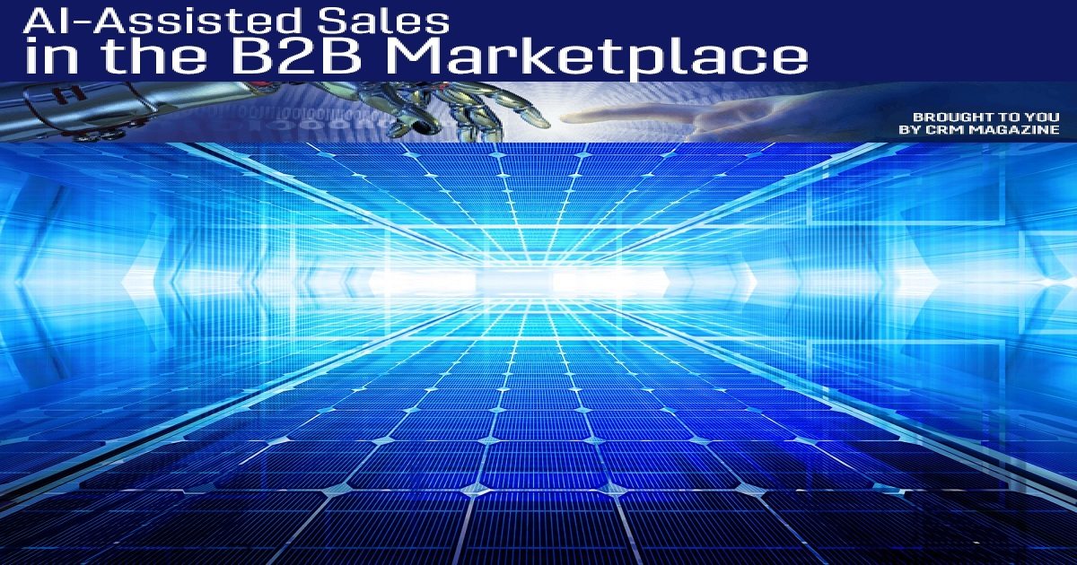 AI-Assisted Sales in the B2B Marketplace