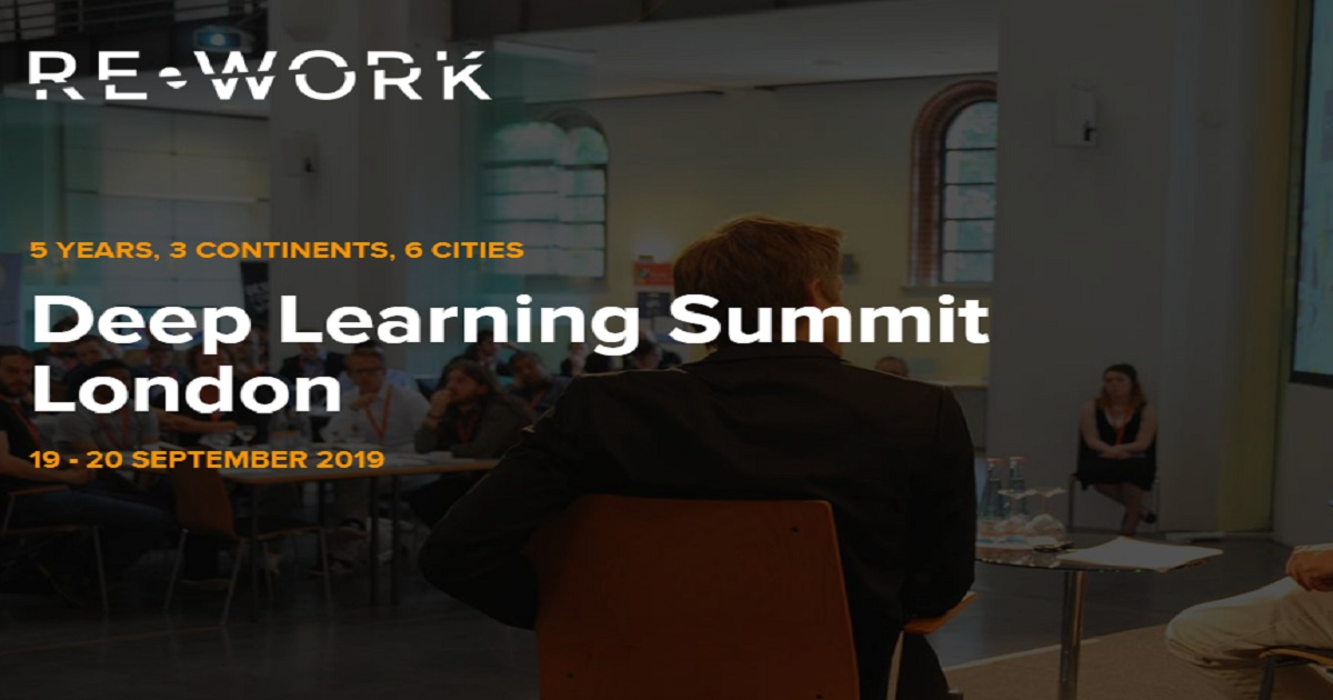 Deep Learning Summit  London