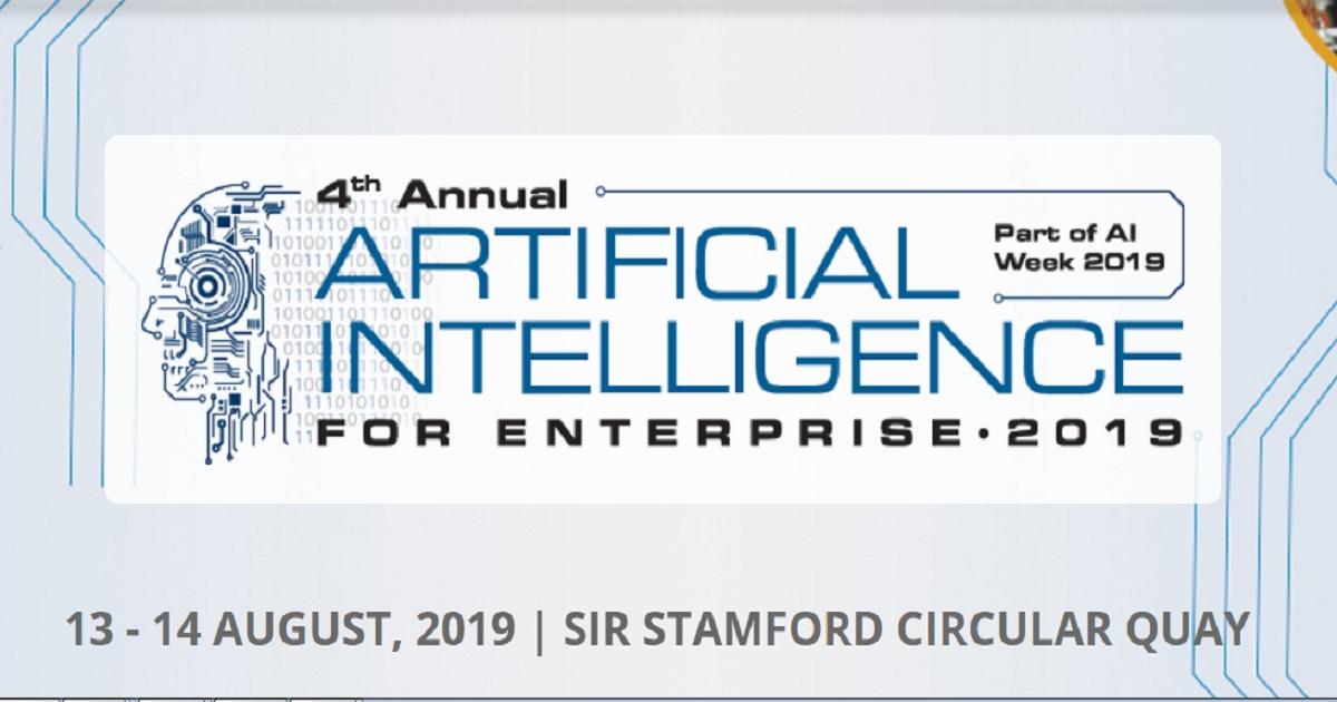 4th Annual AI for Enterprise Summit 2019