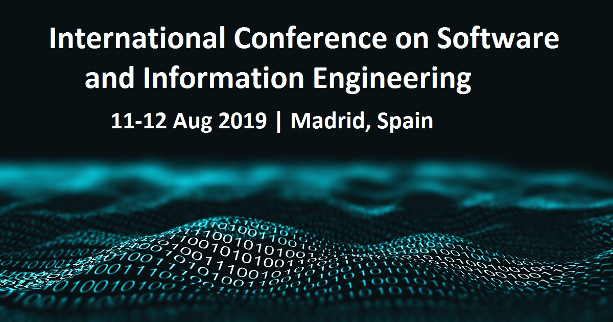 International Conference on Software and Information Engineering