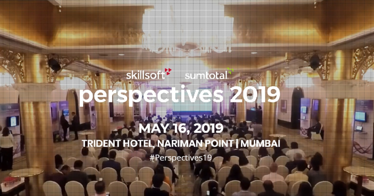 Skillsoft Perspectives India 2019