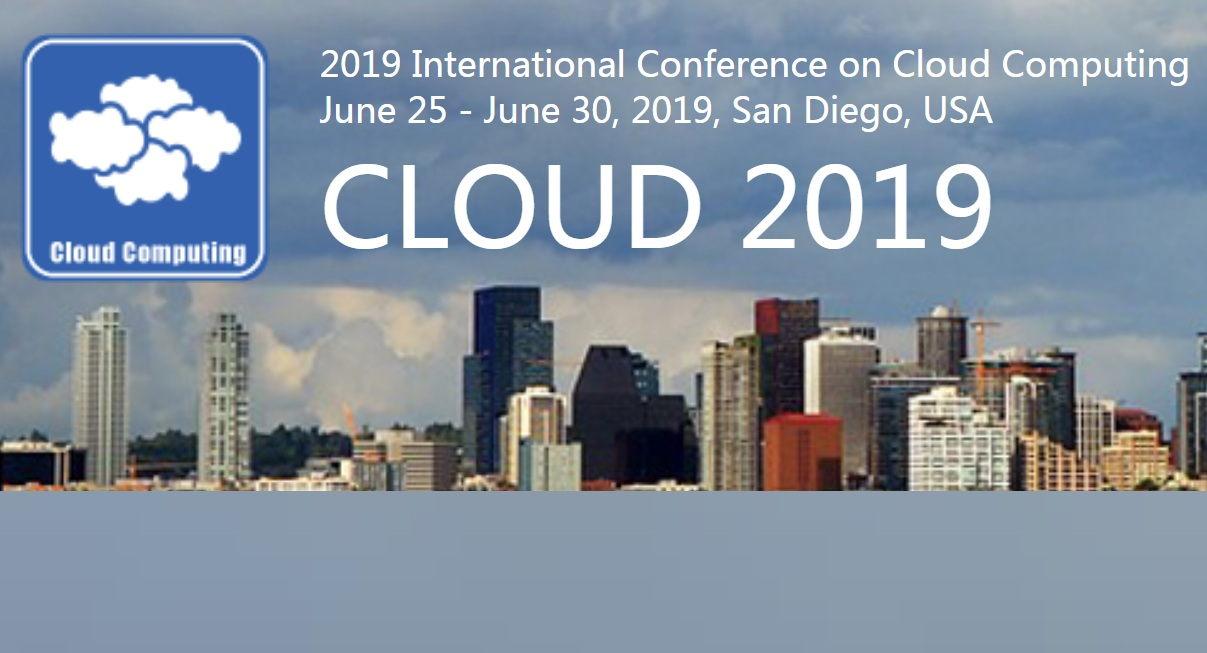 2019 International Conference on Cloud Computing