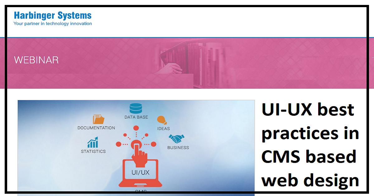 UI-UX best practices in CMS based web design