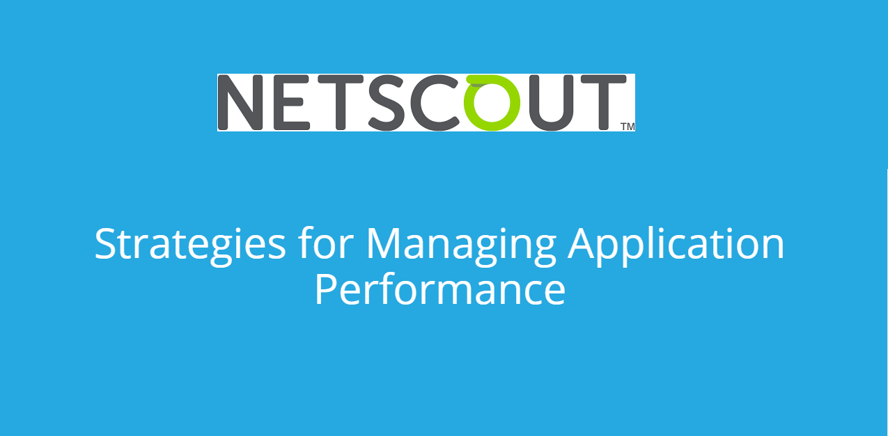Strategies for Managing Application Performance