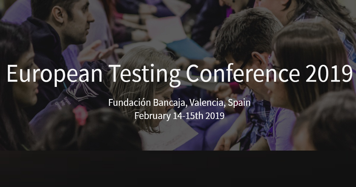 European Testing Conference 2019