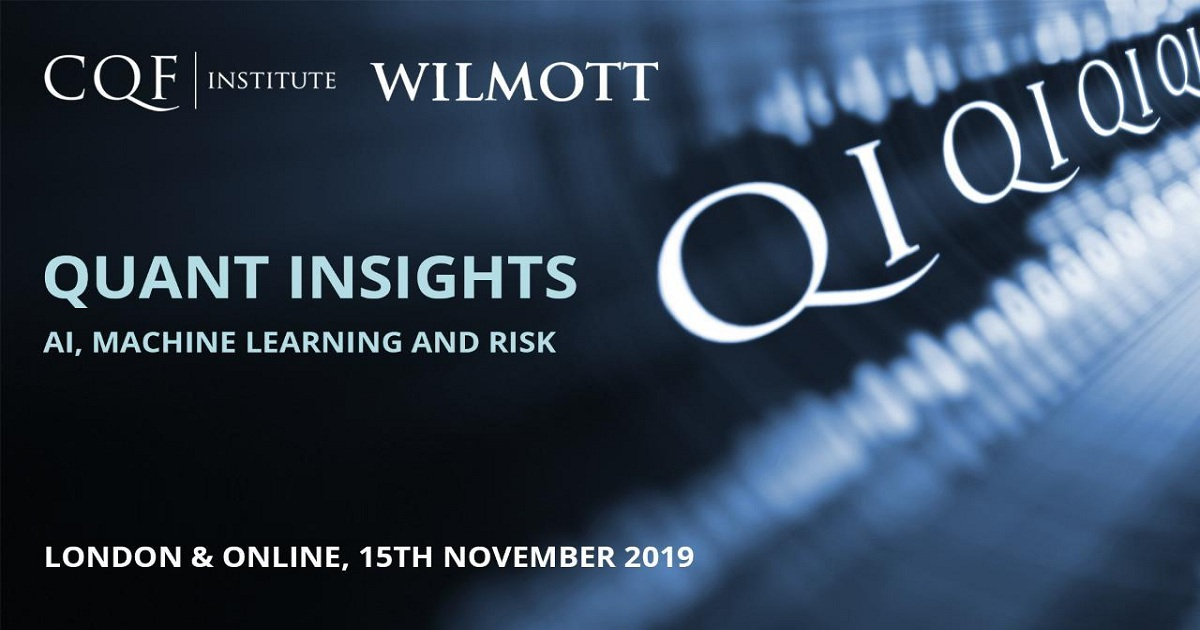 The Quant Insights conference