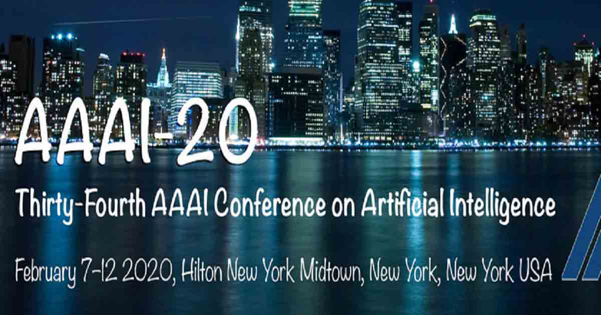 Thirty-Fourth AAAI Conference on Artificial Intelligence