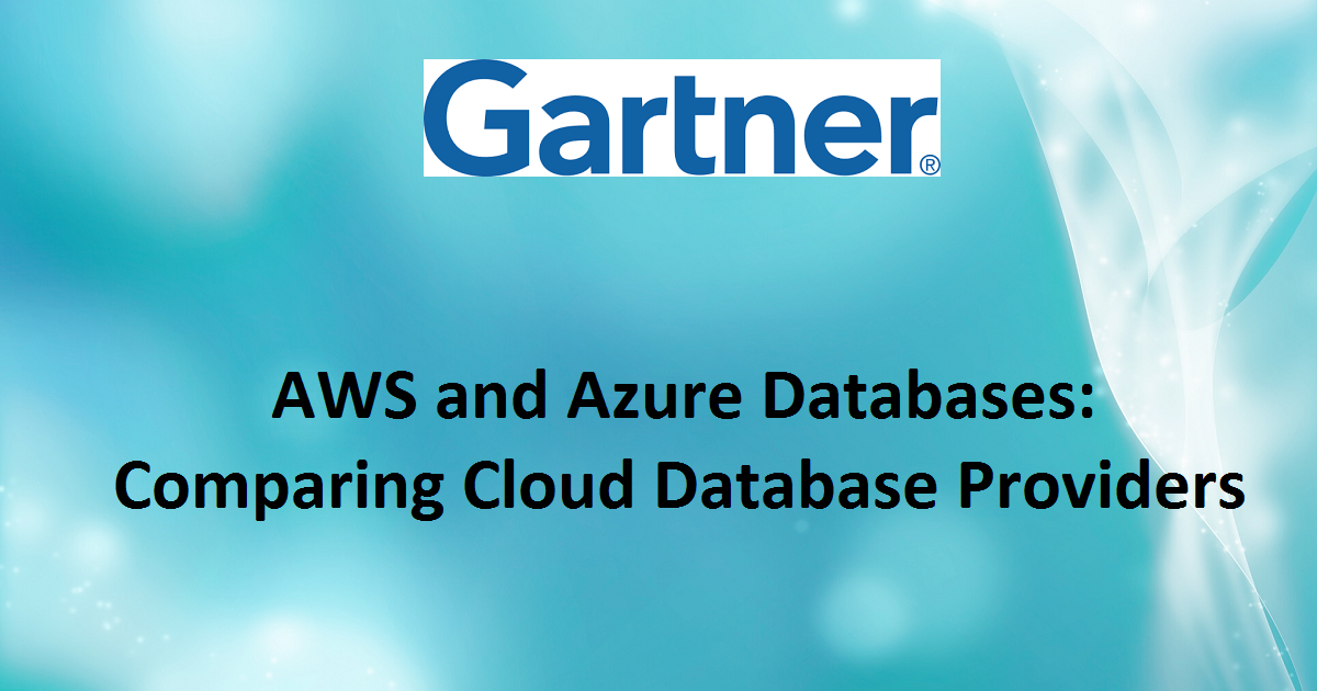 AWS and Azure Databases: Comparing Cloud Database Providers