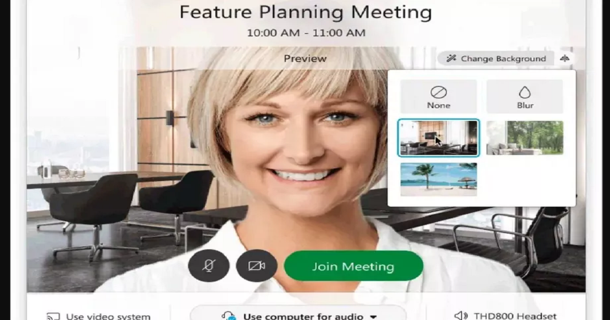 Cisco Unveils Virtual Backgrounds on Its Videoconferencing Software