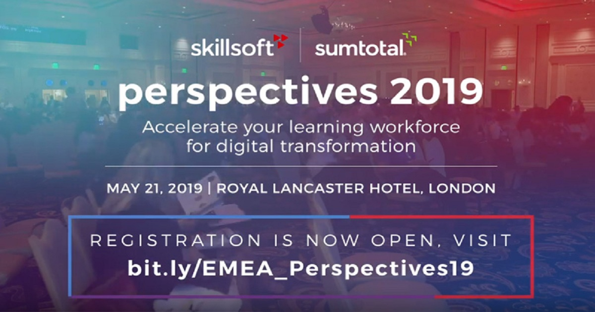 WHAT TO EXPECT AT EMEA PERSPECTIVES 2019